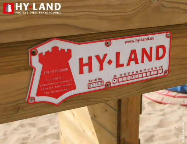 Adventure Zone Toys Hy-Land Commercial Authenticity Plate