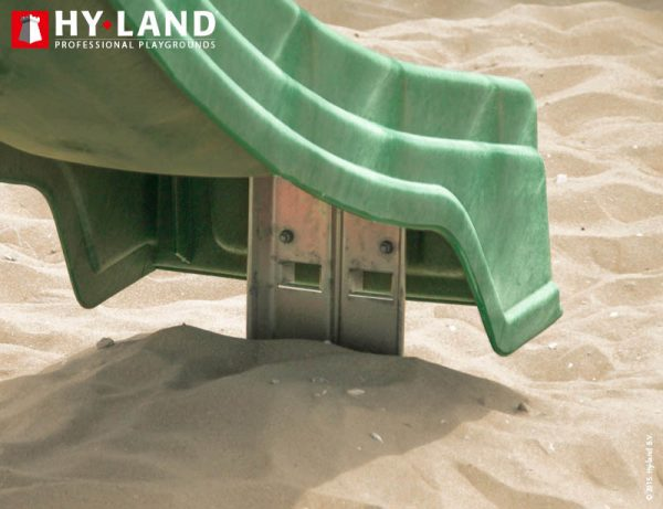 Adventure Zone Toys Hy-Land Commercial Ground Anchor Slide