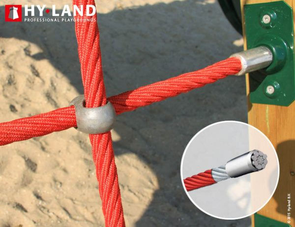 Adventure Zone Toys Hy-Land Commercial Q Climbing Net