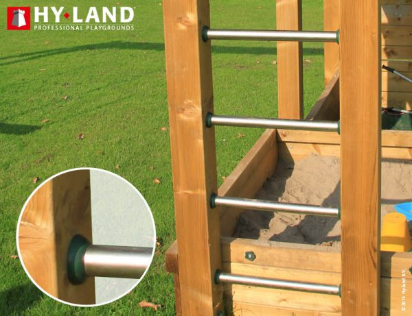 Adventure Zone Toys Hy-Land Commercial Steel Ladder