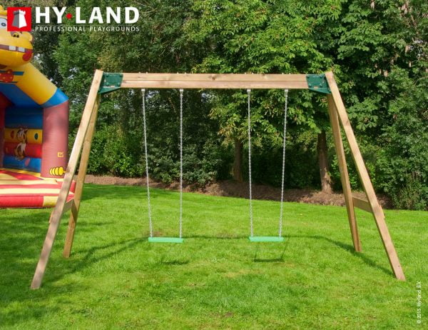 Adventure Zone Toys Hy-Land Commercial Classic Swing Set