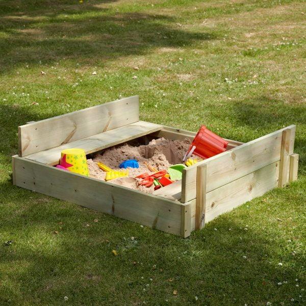 Adventure Zone Toys TP Wooden Lidded Sandpit