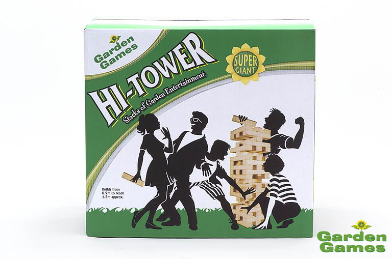 Adventure Zone Toys Garden Games Hi Tower
