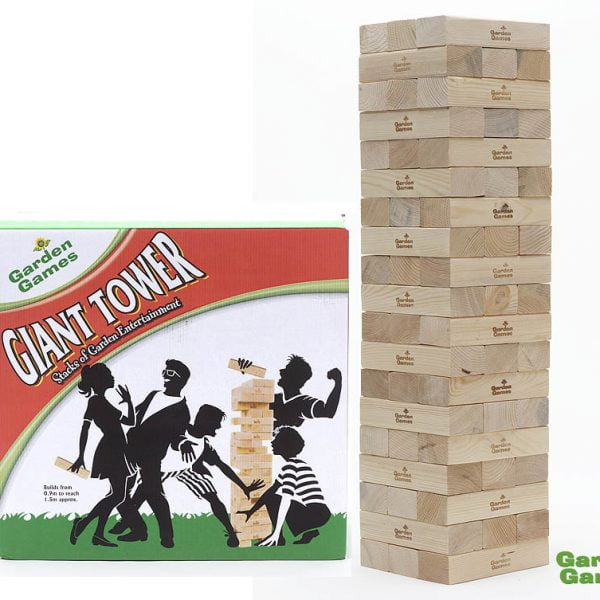 Adventure Zone Toys Garden Games Giant Tower