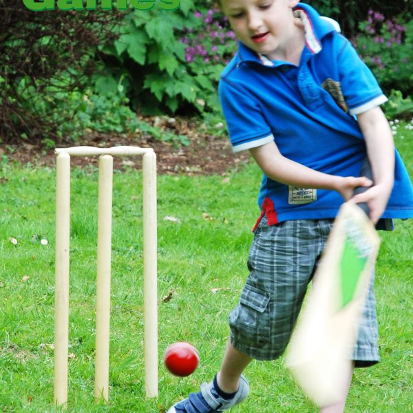 Adventure Zone Toys Garden Games Cricket Set