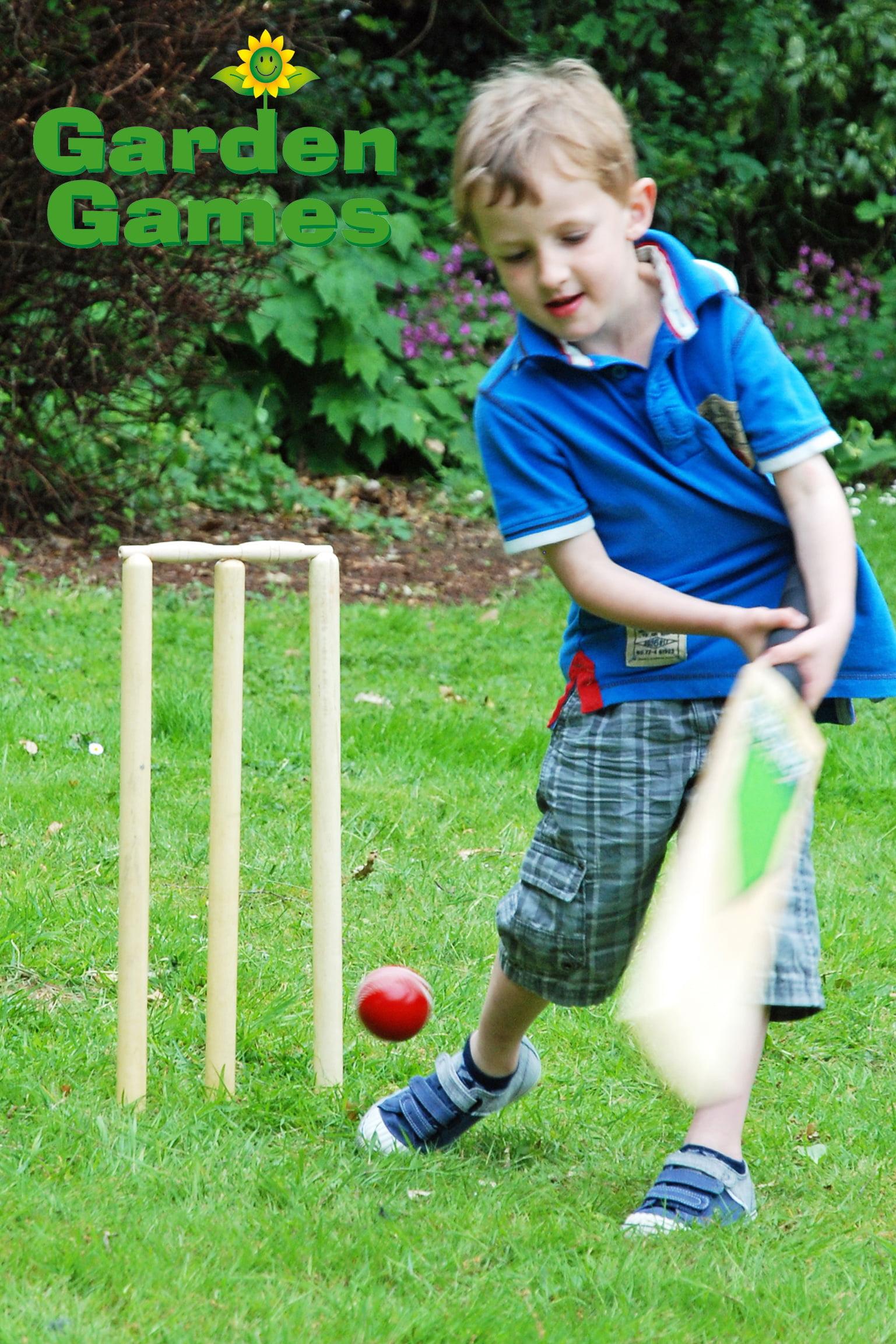 Adventure Zone Toys Garden Games Cricket Set
