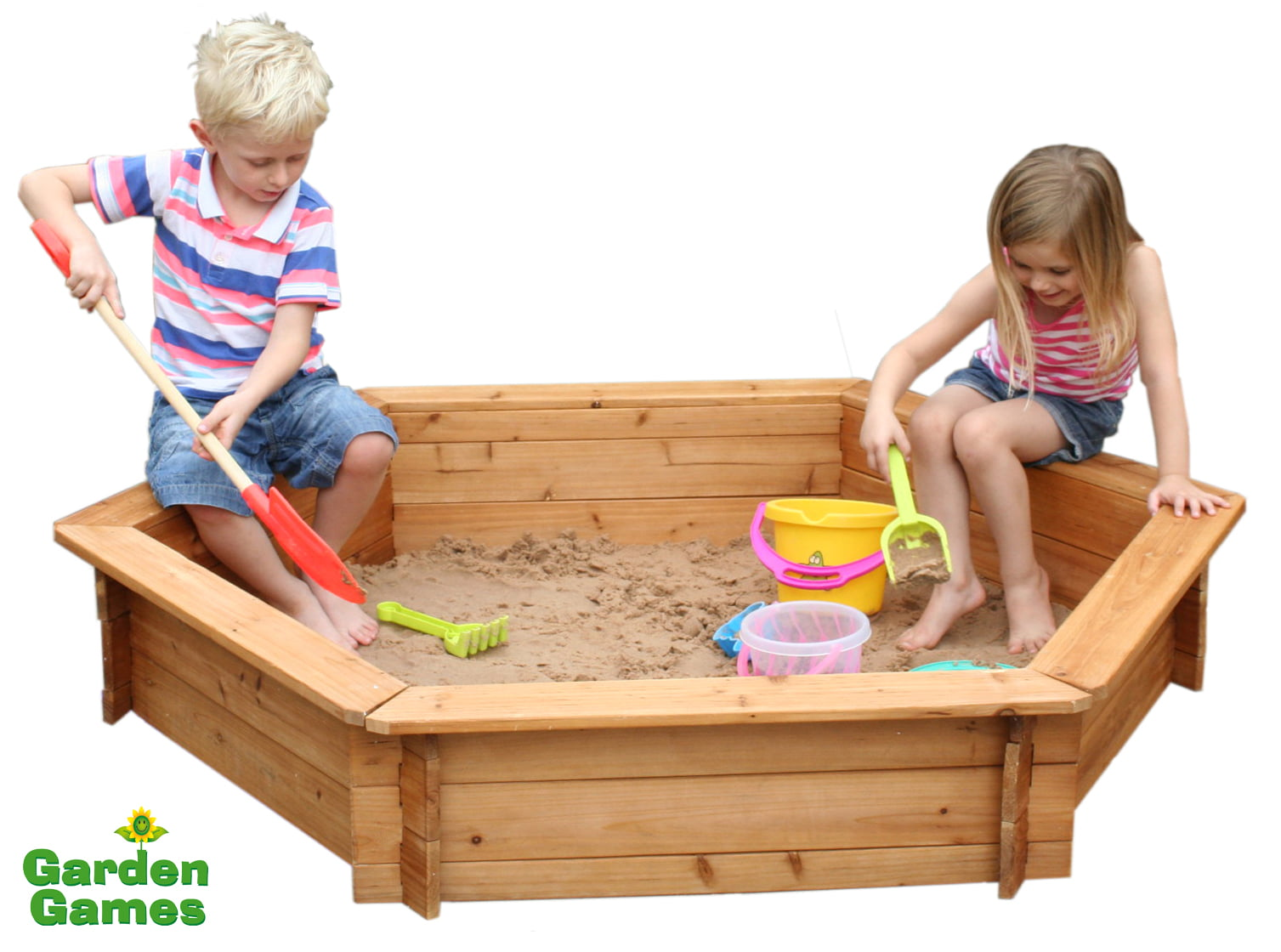 Adventure Zone Toys Garden Games Hexagonal Sandbox
