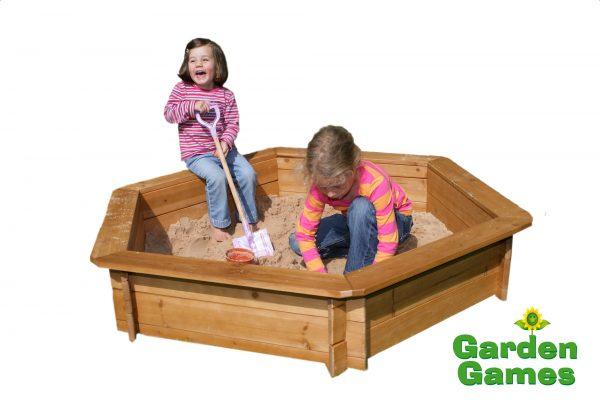 Adventure Zone Toys Garden Games Hexagonal Sandbox