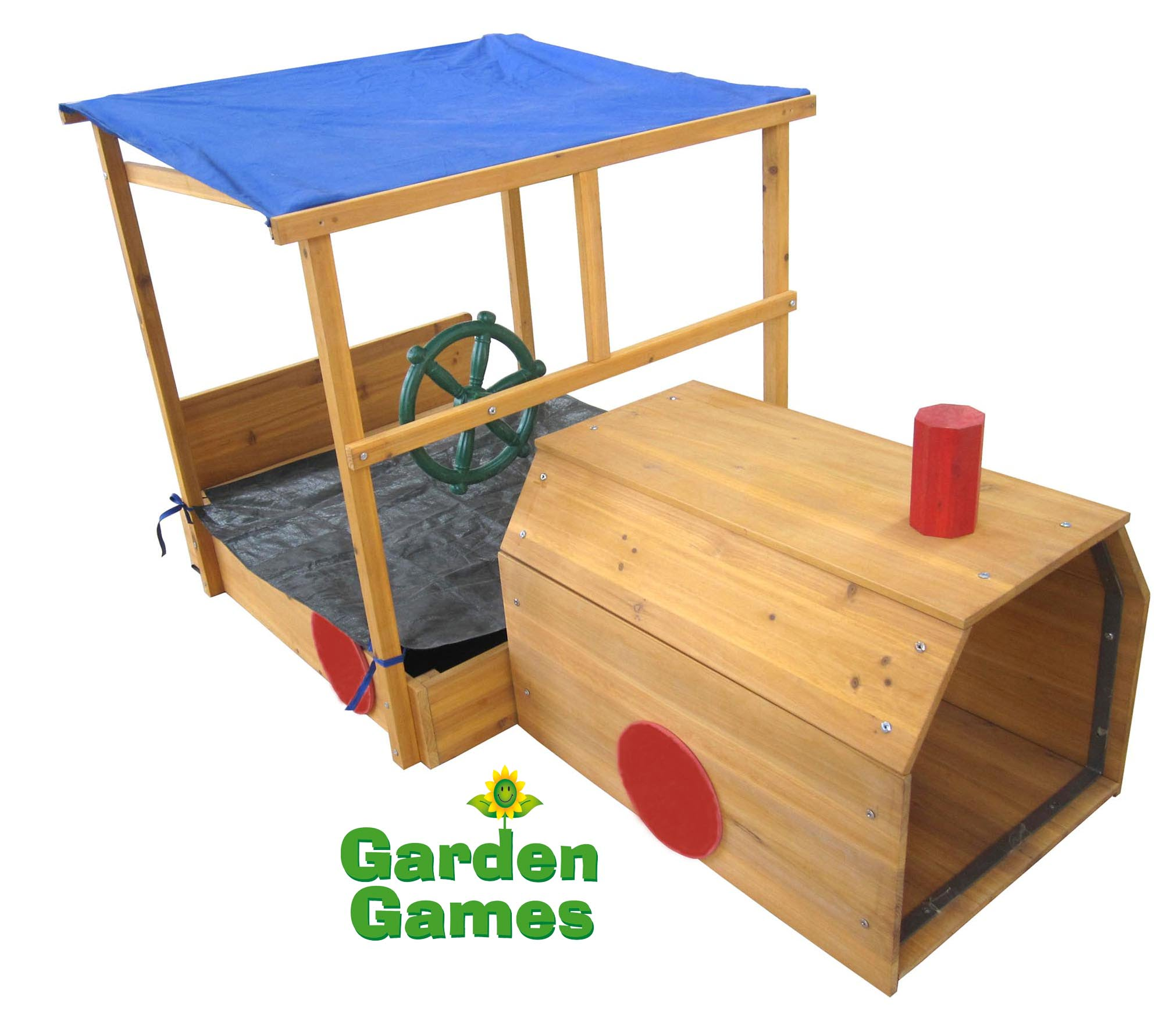 Adventure Zone Toys Garden Games Choo Choo Train Sandpit