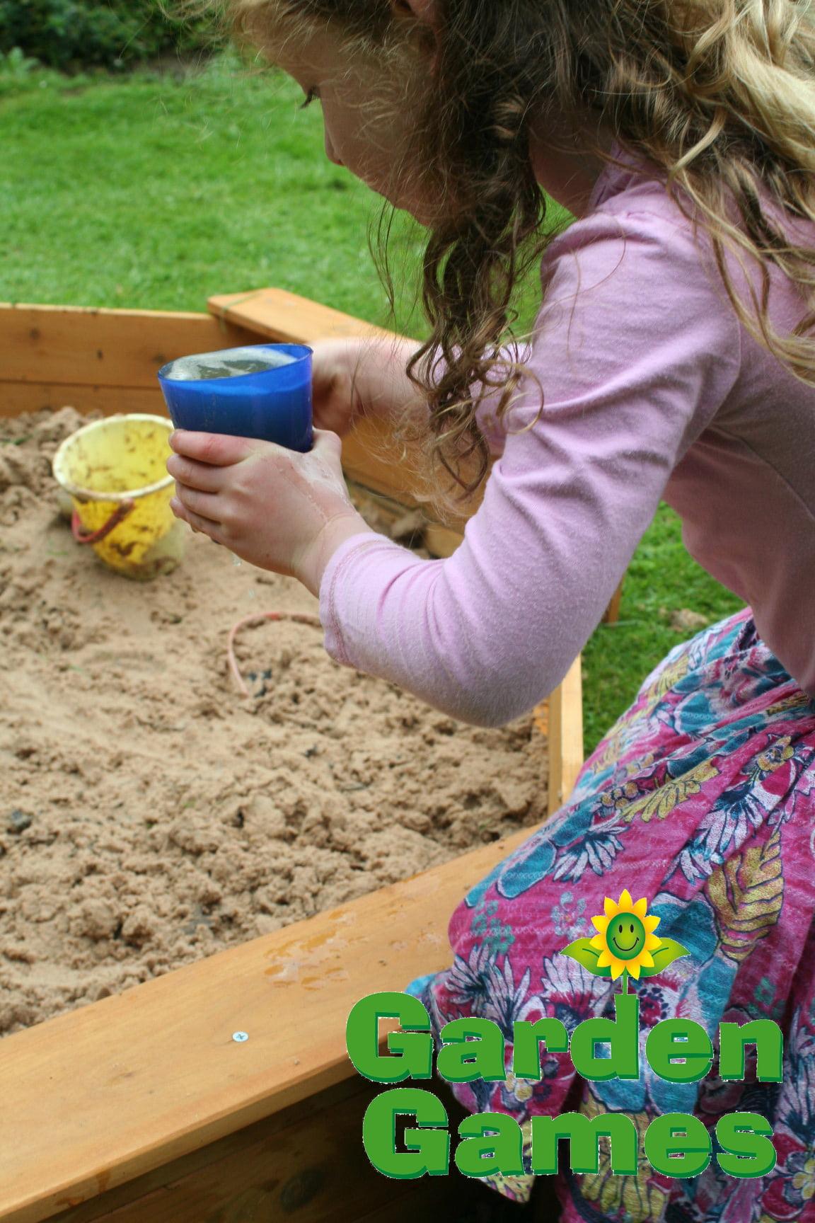 Adventure Zone Toys Garden Games Octagonal Sandpit