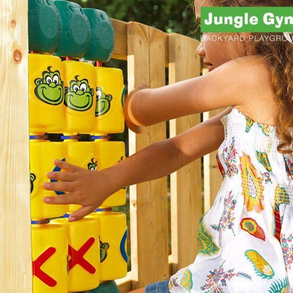 Adventure Zone Toys Jungle Gym Tic Tac Toe Module
