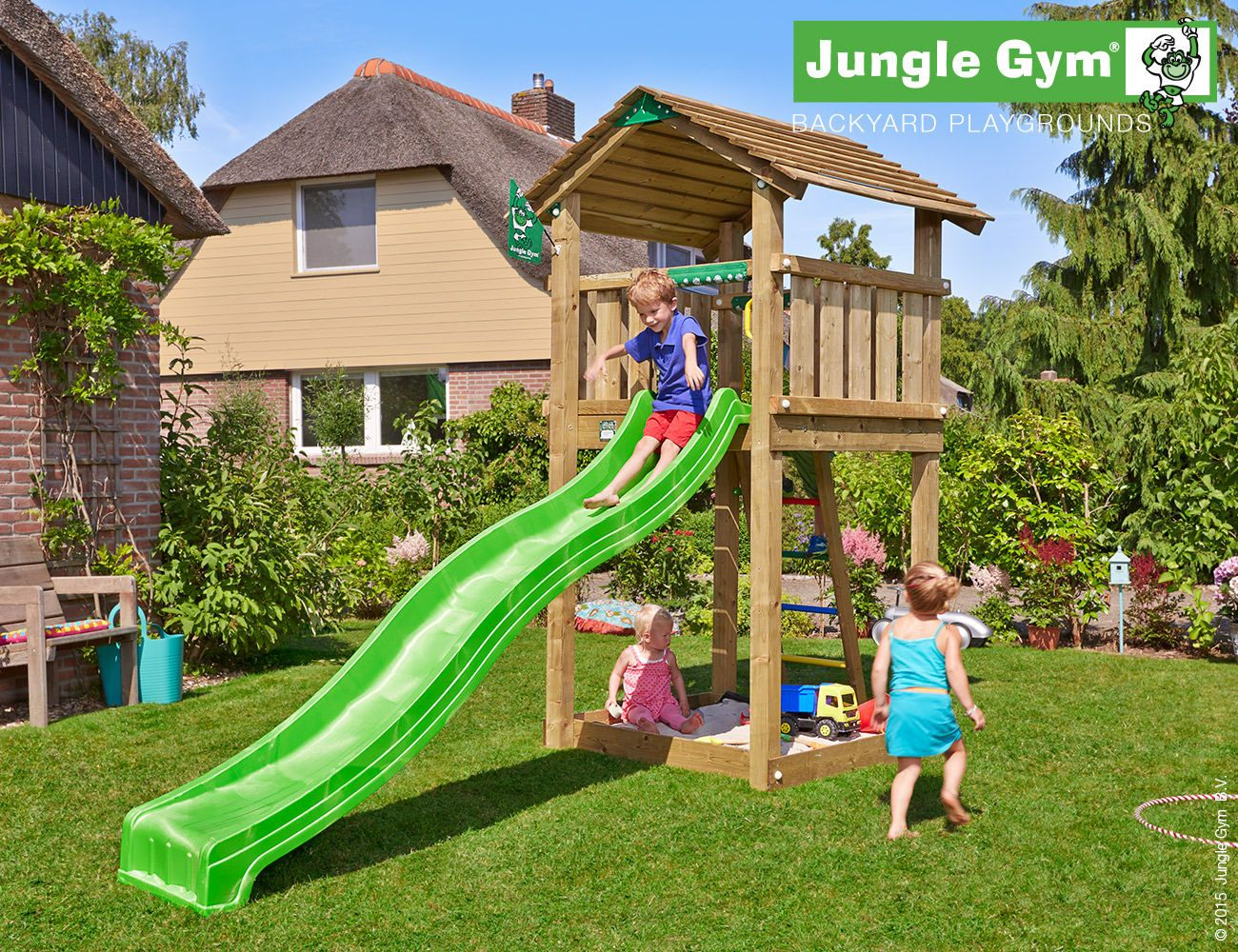 Adventure Zone Toys Jungle Gym Cottage