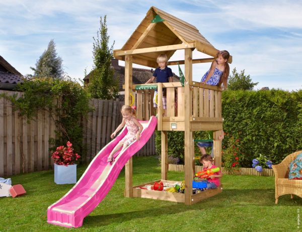 Adventure Zone Toys Jungle Gym House Pink