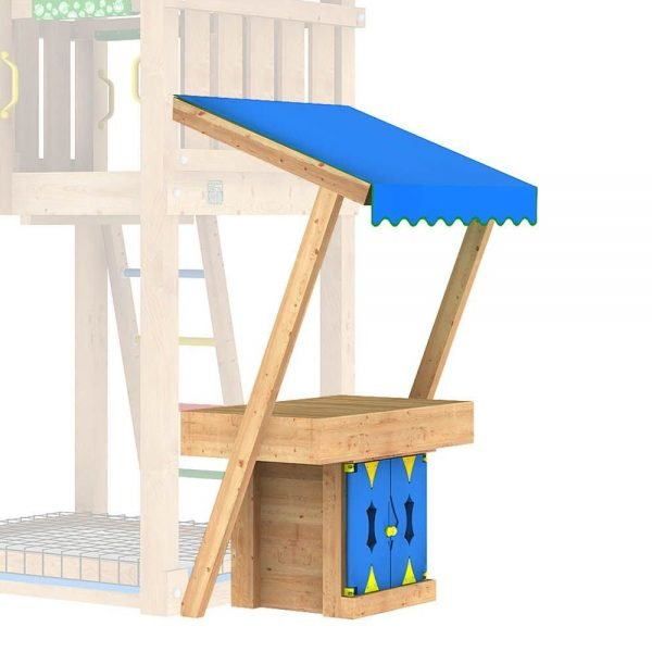 Adventure Zone Toys Jungle Gym Mini Market Module