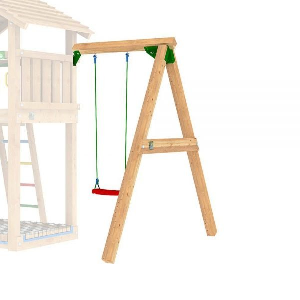 Adventure Zone Toys Jungle Gym Single Swing Module