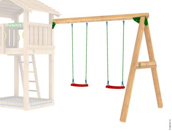 Adventure Zone Toys Jungle Gym 2 Swing Module