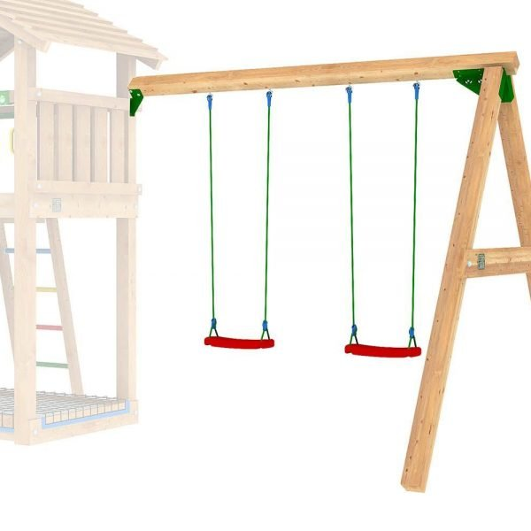 Adventure Zone Toys Jungle Gym 2 Swing Module