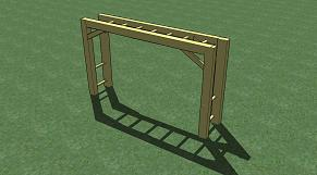 Adventure Zone Toys Home Front Commercial Monkey Bars