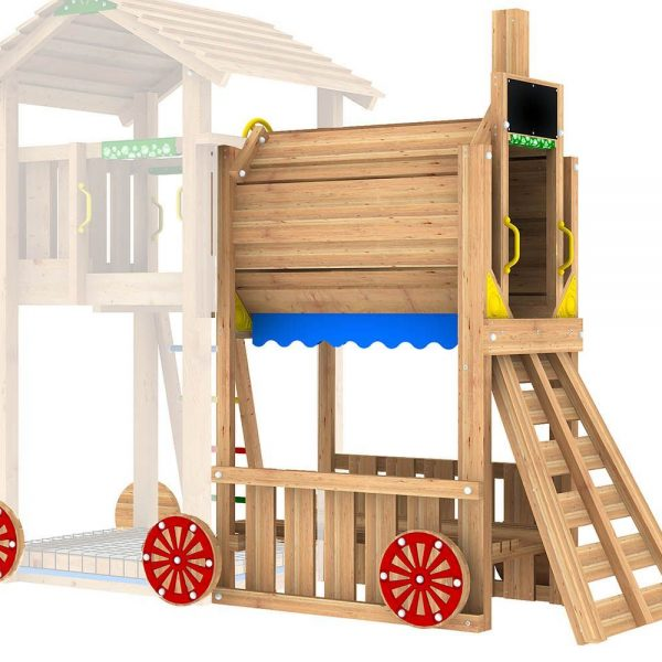 Adventure Zone Toys Jungle Gym Train Module