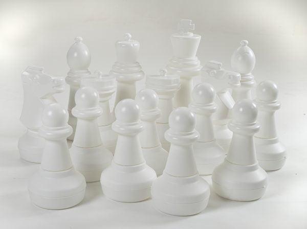 Adventure Zone Toys Garden Games Chess White Pieces